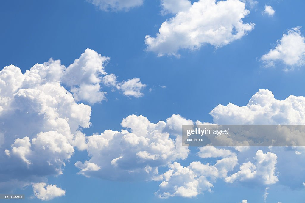 Clouds on sky : Stock Photo