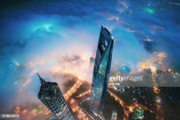 Clouds on the clouds - Shanghai
