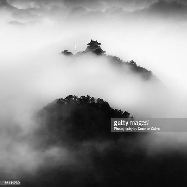 Clouds over Gifu castle