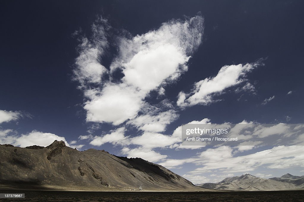 Clouds over Himalayas : Stock Photo