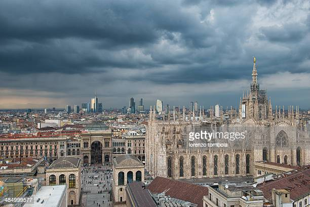 Clouds over Milan
