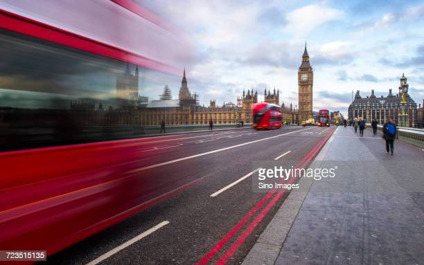 clouds over modern city and city street, london, uk - image stock pictures, royalty-free photos & images