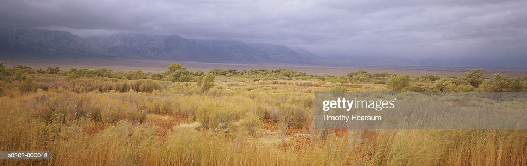 Clouds Over Mountains : Stock Photo