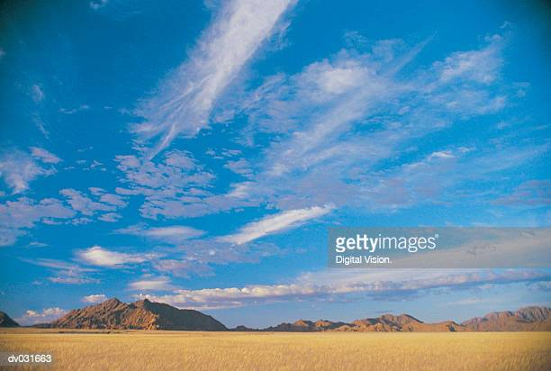 Clouds over Namib Desert, Namibia