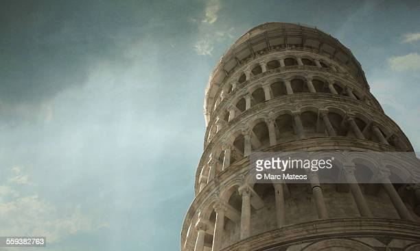 Clouds over Pisa Tower