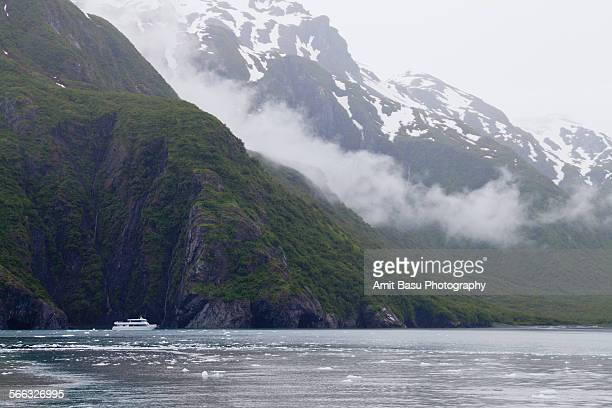 clouds over resurrection bay, alaska - amit basu stock pictures, royalty-free photos & images
