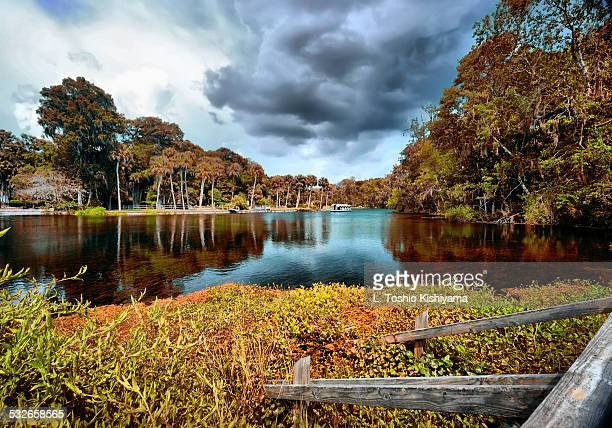 Clouds over Silver Springs, Florida