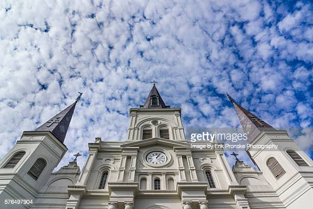 Clouds over St. Louis Cathedral