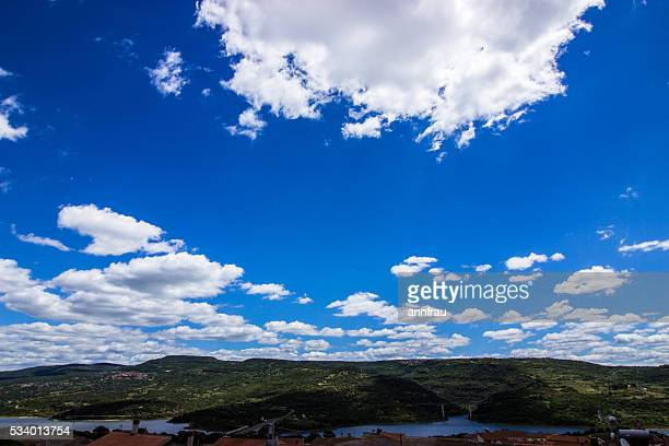 clouds over the lake - annfrau stock pictures, royalty-free photos & images