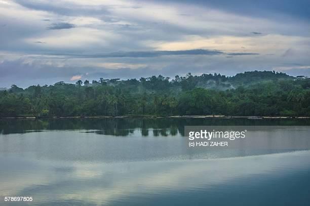 Clouds over the rainforest, Manus Island