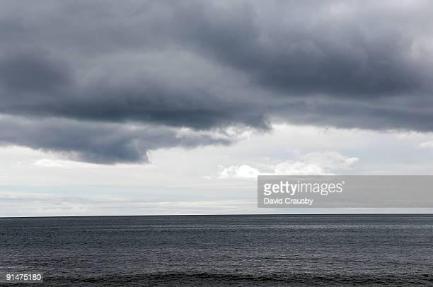 Clouds over the sea at Praia Do Vau