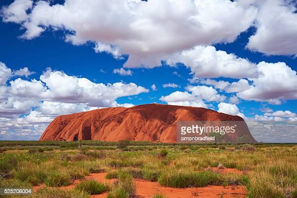 Clouds Over Uluru