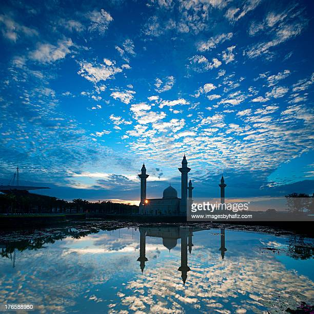Clouds Reflection and a Mosque