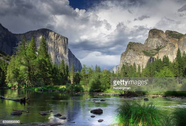 Clouds Rolling Over Yosemite Valley