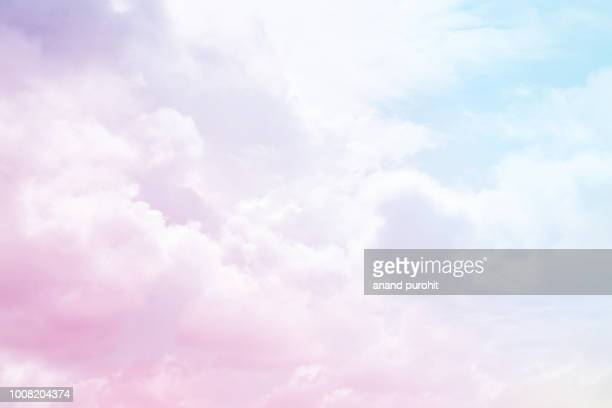 clouds, sky, background, abstract - color gradient stock photos and pictures