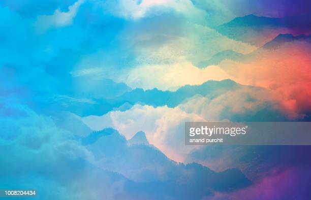 clouds, sky, background, abstract - tranquil scene stock pictures, royalty-free photos & images