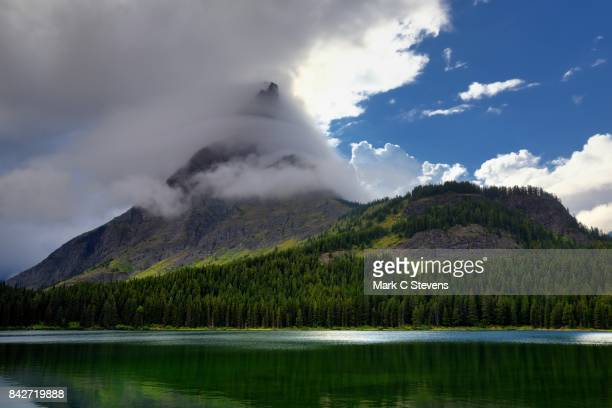 Clouds Swirling around Grinnell Point