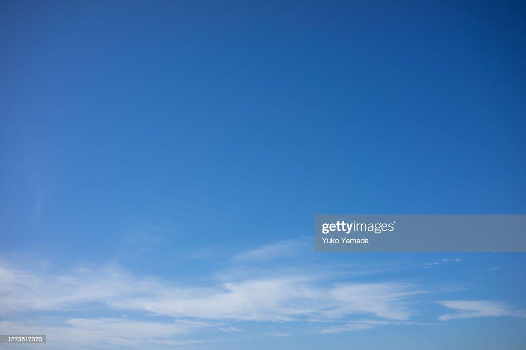 Clouds Typologies - Morning : Foto de stock