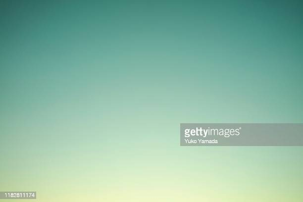 clouds typologies - twilight - colour gradient stock pictures, royalty-free photos & images