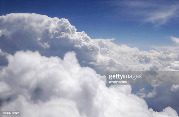 clouds viewed from above - cmannphoto stock pictures, royalty-free photos & images