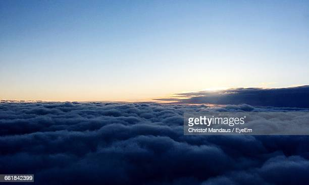 Clouds With Sky In Background