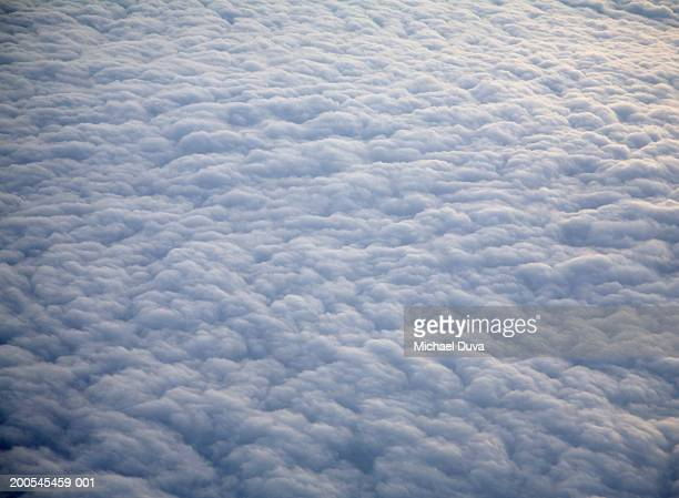 Cloudscape, aerial view