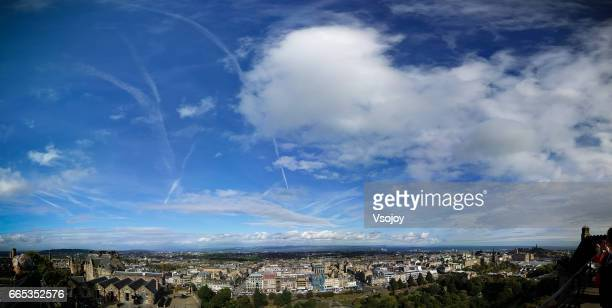 Cloudscape and the city, Edinburgh