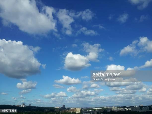 Cloudscape and Tokyo Cityscape