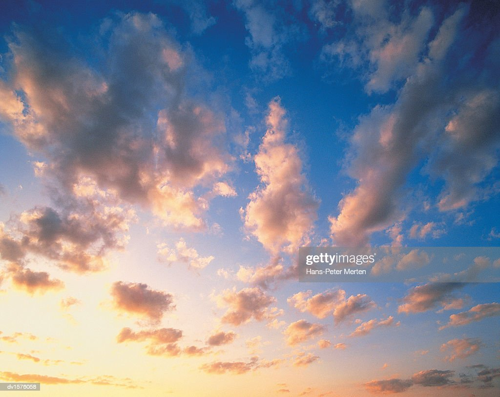 Cloudscape at Dusk : Stockfoto