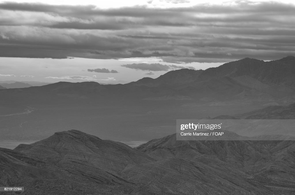 Cloudscape over the mountain : Stock Photo