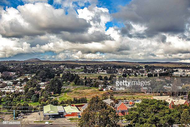 Cloudscape over the Sovereign hill, Australia