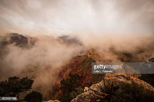 Cloudy day at Grand Canyon
