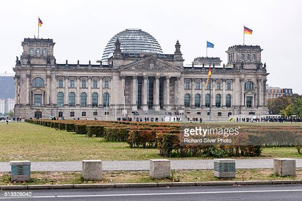 Cloudy day at the Reichstag