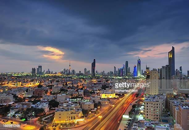 cloudy day kuwait city