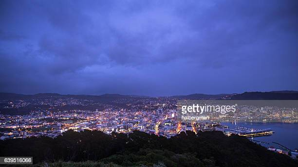 Cloudy Morning in Wellington, New Zealand
