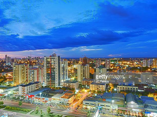 cloudy night - cuiabá stock photos and pictures