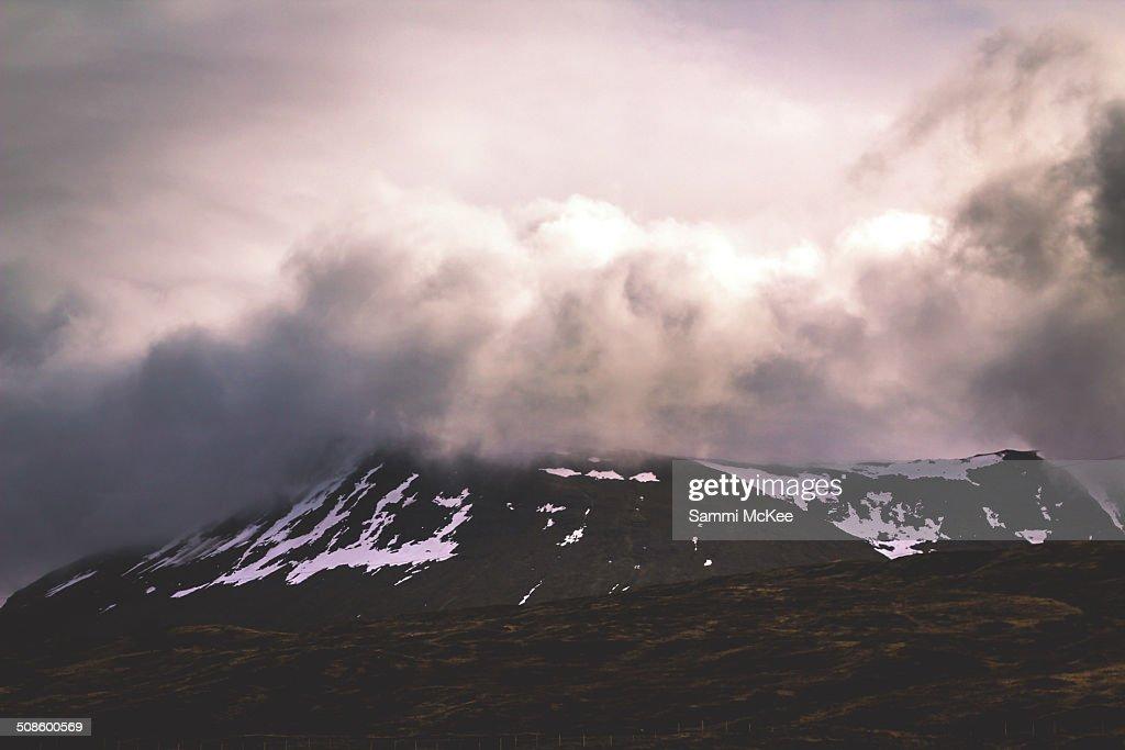 Cloudy Scotland Mountains : Stock Photo