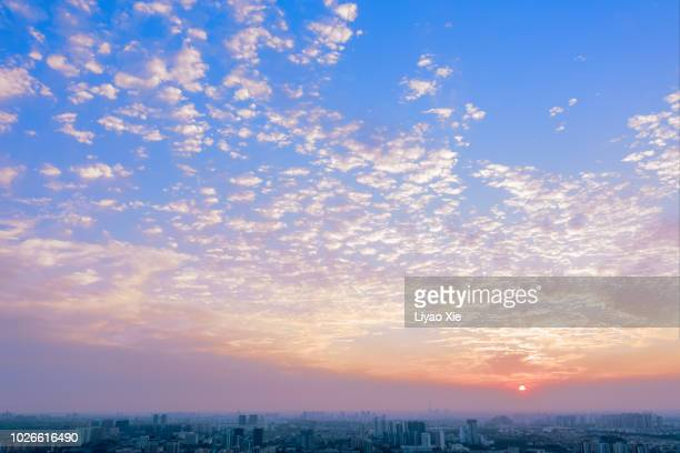 cloudy sky - liyao xie stock pictures, royalty-free photos & images