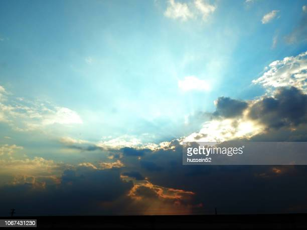 cloudy sky - hussein52 stock photos and pictures