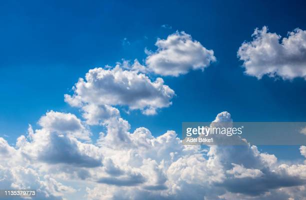 cloudy sky - cumulus stock pictures, royalty-free photos & images