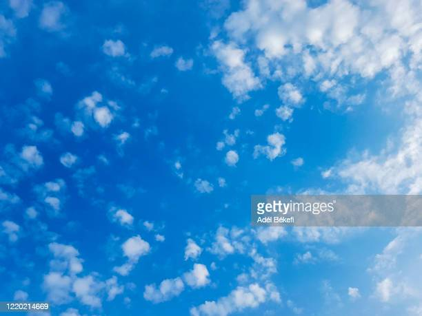 cloudy sky - sky only stock pictures, royalty-free photos & images
