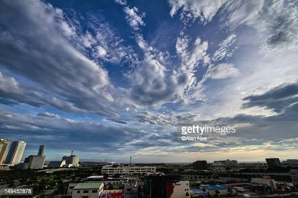 cloudy sky - nee nee fotografías e imágenes de stock