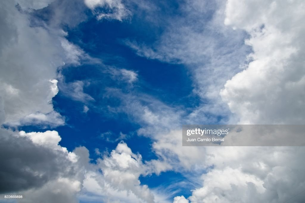 cloudy sky : Stock Photo