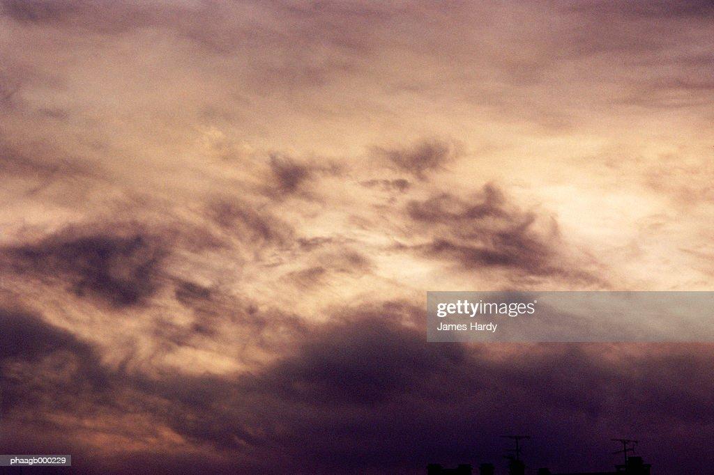 Cloudy sky : Stockfoto