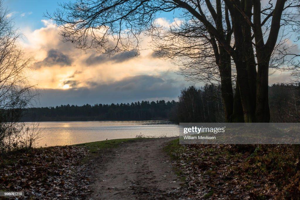 Cloudy Sunrise : Stockfoto