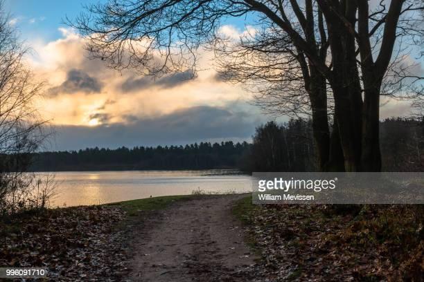 cloudy sunrise - william mevissen bildbanksfoton och bilder