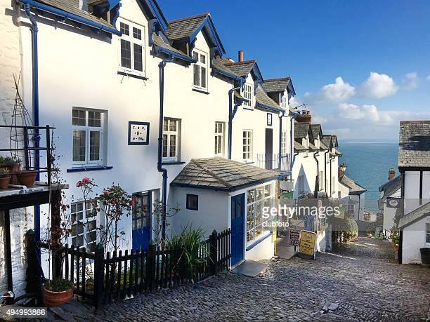 Clovelly village in Devon, UK