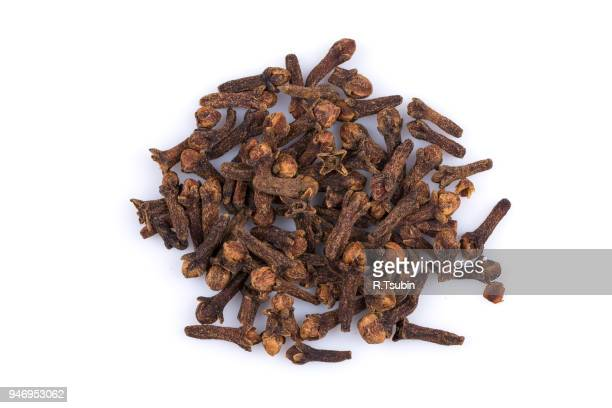 Cloves spice isolated on a white background