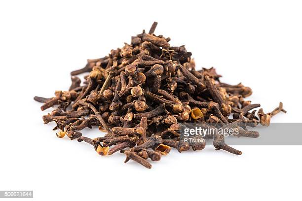 Cloves spice isolated