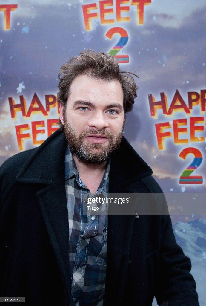 Clovis Cornillac attends 'Happy Feet 2' Paris Premiere at Gaumont Capucines on December 4, 2011 in Paris, France.